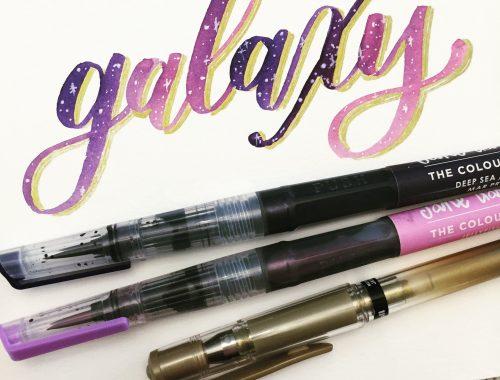 Learn Galaxy Lettering